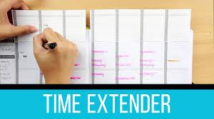 time design planner planner hack extend planner time free pdf download youtube