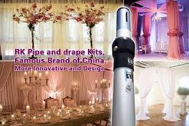 wedding backdrop design singapore telescopic cctv mast pole wedding backdrop pipe and drape
