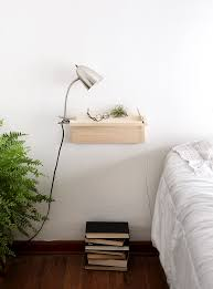 Tall Bedside Tables by Furniture Wall Mounted Bedside Table Floating Nightstand Wall