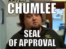 Chumlee Meme - chumlee seal quickmeme