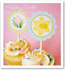 Easter Cupcake Decorating Ideas Pinterest by Easter Cupcake Decorating Ideas Printable Toppers