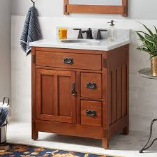 what size sink fits in 30 inch cabinet 30 american craftsman vanity for undermount sink autumn wheat
