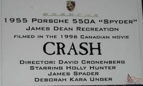 dean movie car 1955 porsche spyder 550 replicar race show 2499cc 4 spd