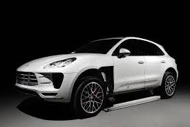 Porsche Macan White - topcar begins work on porsche macan bodykit gtspirit