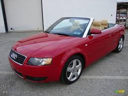 convertible audi red 2005 amulet red audi a4 3 0 quattro cabriolet 24354712 gtcarlot