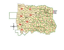 Austin Texas Zip Code Map by Wims County Id Maps