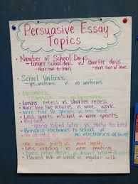 Persuasive Essay topics School Daze Pinterest