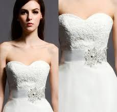 2017 custom made sparkly wedding dress sash 2015 with shining