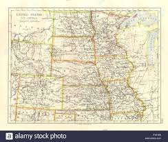 Colorado Usa Map by Usa Plains States Iowa Minnesota Kansas Ne Nd Sd Colorado