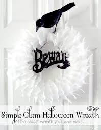 Black Halloween Wreath 25 Frightfully Fun Halloween Wreaths Tauni Co