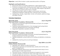 resume computer skills sles resume inside sales objective unforgettable resumes objectives