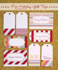 free printable holiday tags gift exchange
