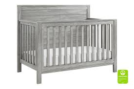 sterling fairway convertible crib rustic grey cribs davinci baby
