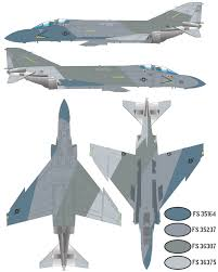 f 4s phantom ii ferris camouflage 3 color profile and paint guide