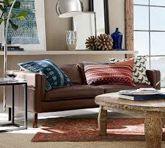 Pottery Barn Delivery Phone Number Austin Leather Sofa Pottery Barn