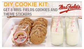 favor cookies mrs fields cookies party favors kits best loot bag alternative