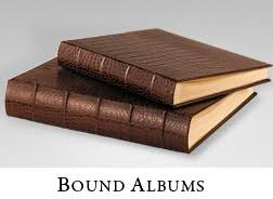 bound photo albums leather photo albums leather scrapbooks and personalized photo albums