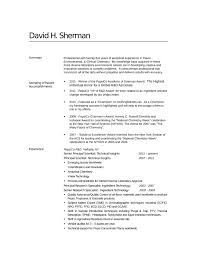 Sample Chemistry Resume by Professional Analytical Chemist Resume Template
