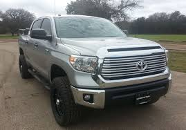 toyota tundra leveling kit fabricated lift spindles 2007 2015 tundra 2wd 3 5 cst