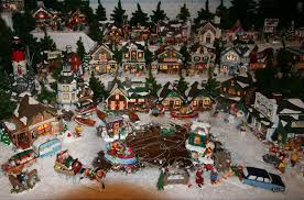 Lighted Christmas Star Display by Lighted Christmas Villages Christmas Lights Decoration