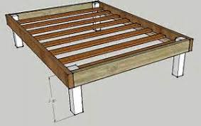 build easy twin platform bed image mag
