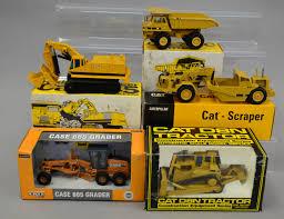 five diecast model construction vehicles nzg cat 769c truck nzg