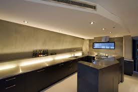 modern house appealing kitchen design near metal countertop