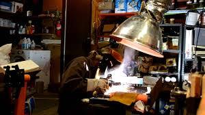 exhaust fan for welding shop diy fume extractor in action youtube