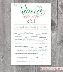 wedding mad lib template wedding mad libs how they met ardiafm