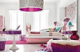 bedroom purple and white teenage with modern architecture
