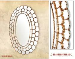 Decorative Mirrors For Bathrooms by Bathroom Mirror Etsy