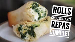 recettes maxi cuisine recette maxi rolls croustillants repas complet et healthy