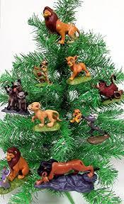 king set of 6 tree ornaments