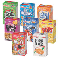 amazon com kellogg u0027s cereal variety pack single serve boxes