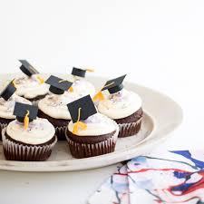graduation cake toppers mini graduation caps cupcake toppers diy