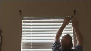 Home Decorators Collection 2 Inch Faux Wood Blinds Video How To Install Faux Wood Blinds Ehow