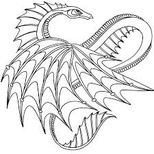 coloring realistic dragon coloring pages