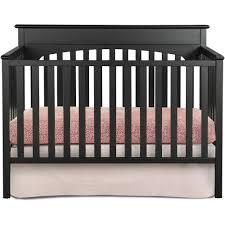 Graco Stanton Convertible Crib Black Graco 4 In 1 Convertible Crib Pebble Gray Ebay