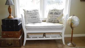how to make a diy salvaged chair french bench anoregoncottage