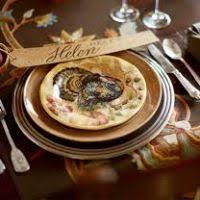 thanksgiving tableware sets divascuisine