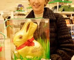lindt easter bunny lindt gold milk chocolate easter bunny toluna
