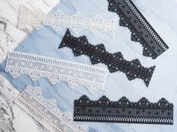 edible lace petal crafts chantilly premade edible cake lace craftsy