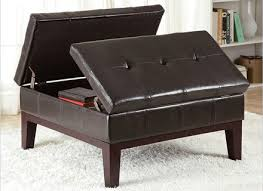 leather ottoman coffee table round marylouise parker org