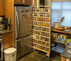 Narrow Pull Out Spice Rack A Spice Rack To Fit 72 Mason Jars Worth Of Spices And Herbs