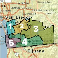 San Diego City Council District Map by Sweetwater Counseling And Guidance Association Suhsd