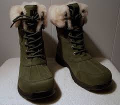 s green ugg boots ugg boots butte lodge green s size 10 5 737872875947 ebay
