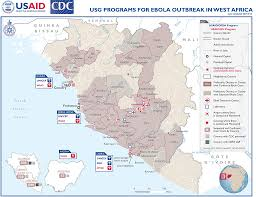 Lagos Africa Map West Africa Ebola Outbreak Fact Sheet 1 U S Agency For