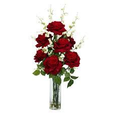 silk flower arrangements roses w cherry blossoms silk flower arrangement silk specialties