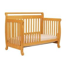Davinci Emily 4 In 1 Convertible Crib With Toddler Rail Davinci Emily 4 In 1 Convertible Crib In Honey Oak Aptdeco