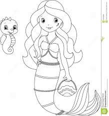 free printable mermaid clipart 71